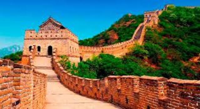 Contruccion de la Gran Muralla China