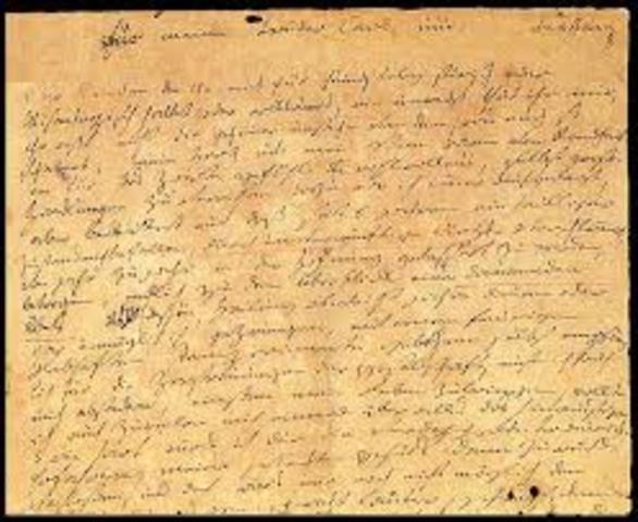 Beethoven - Redacta el Testament de Heiligenstadt