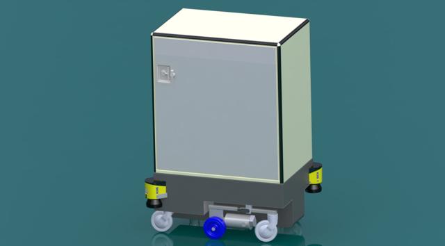 MIR og ROS Udvikler robot