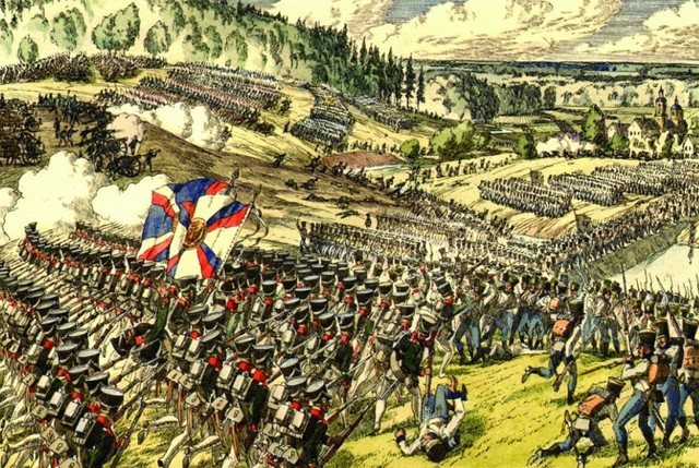 Napoleon Defeats Austrian and Russian Forces