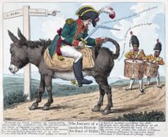 Napoleon Exile to Elba