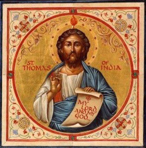 Dood van de apostel Thomas
