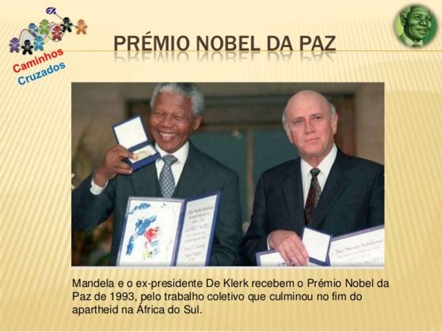 Awarded the Nobel Peace