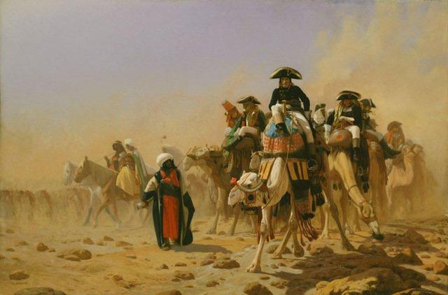 Napoleon invaderer Egypten