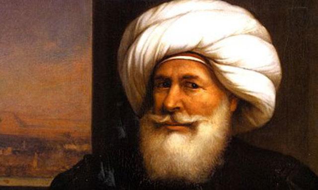 Muhammad Ali Basha overtager Egypten