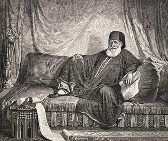 Ali Basha slår den osmanniske sultan og bliver enevældig regent i Egypten