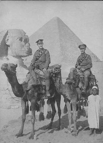 WW1, England gør Egypten til protektorat