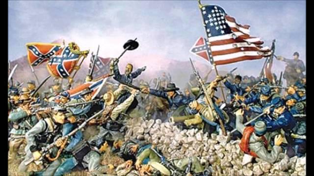 Amerikansk borgerkrig udbryder - indflydelse på landbrug især bomuld