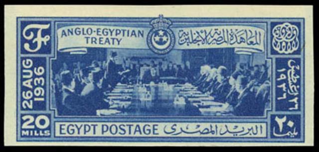 WW2 udbryder og Egypten efterlever aftalen med Storbritannien