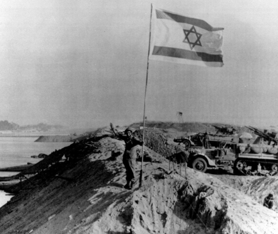 Oktober eller Yom-Kipur krig mod Israel
