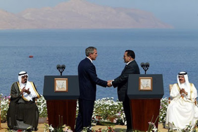 Egypten giver indirekte støtte til invasion af Irak