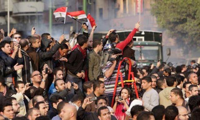 Forud for præsidentvalget opstår hyppige protester