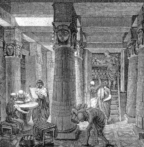 Great Library of Alexandria Destroyed?