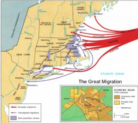 Great Puritan Migration