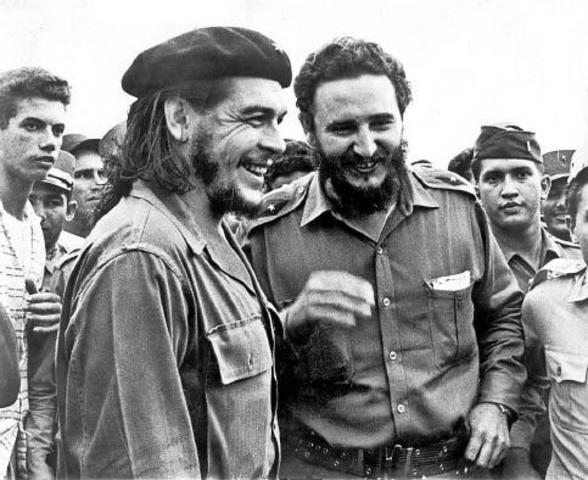 Fidel Castro derroca a Fulgencio Batista