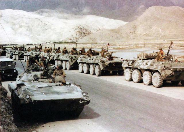 Invasión soviética a Afganistán