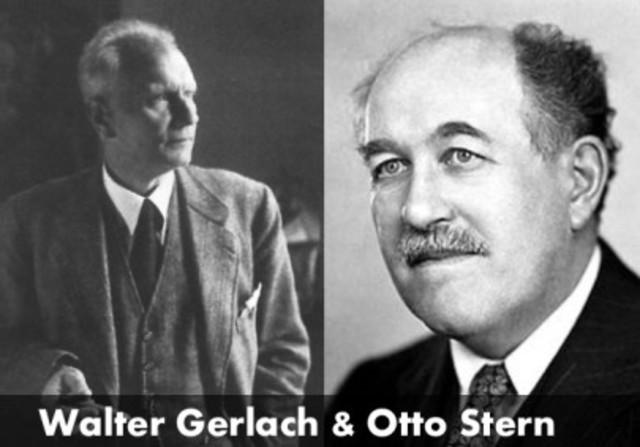 Otto Stern y Walter Gerlach