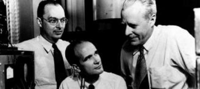 John Bardeen  y Walter Brittain