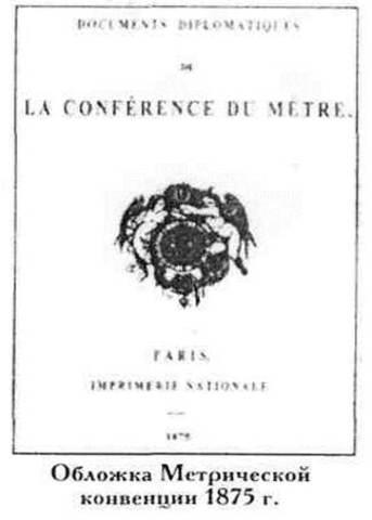 Подписание метрической конвенции