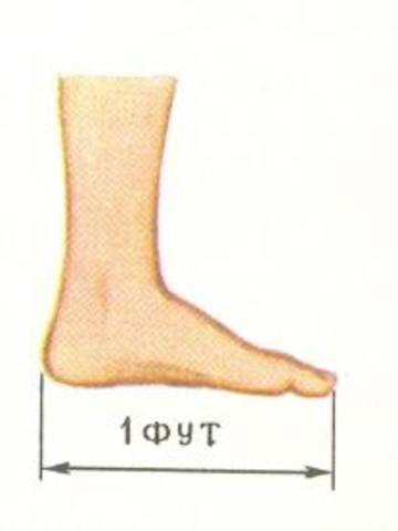 Определение фута