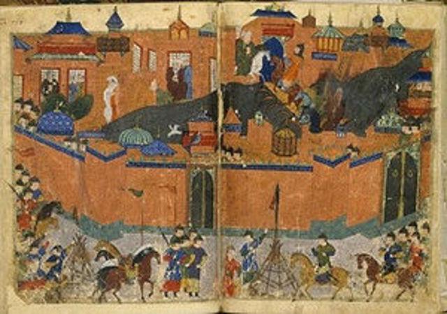 The Mongols destroy Baghdad