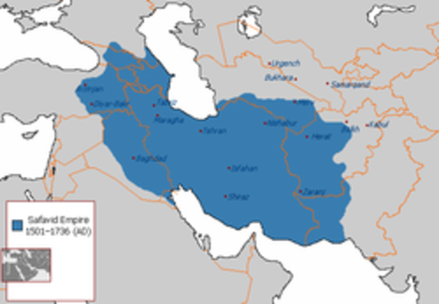 The Safavid empire is founded