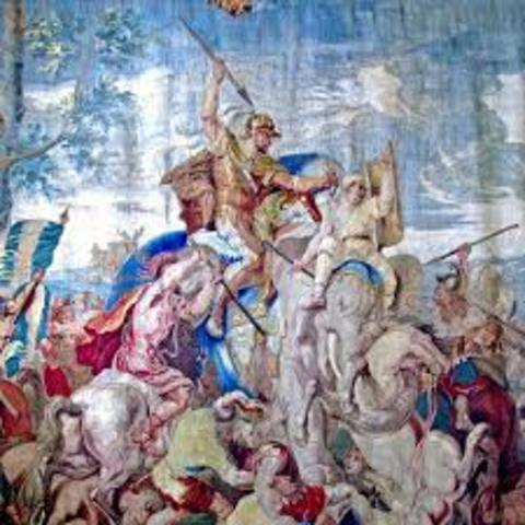 Alex the Great defeats Darius