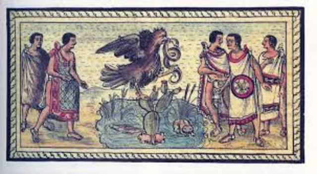 Tenochitlan Founded