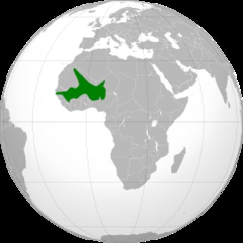 The Songhai empire begins