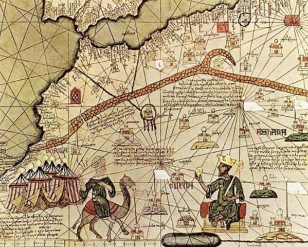 Mansa Musa, a proesperous emperor, makes a great hajj