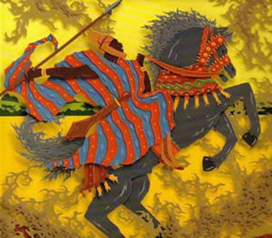 Sundiata, the founder of Mali, leads a rebellion against Sumanguru