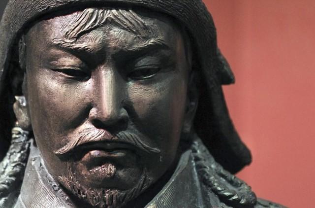 Genghis Khan's death