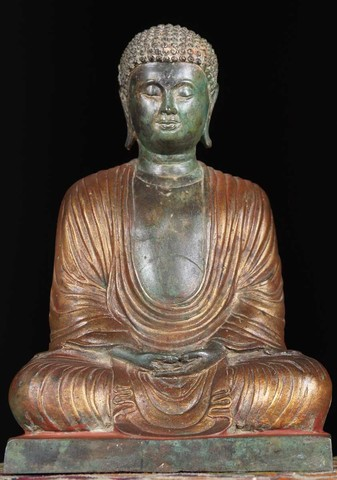 Buddhism arrives in Japan