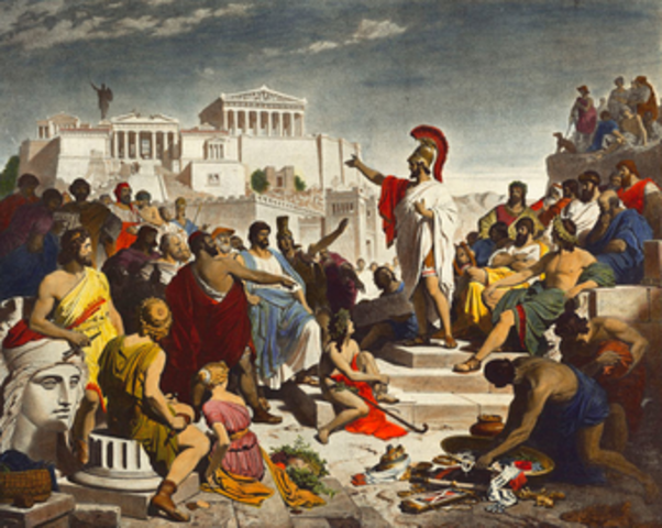 Democracy Begins in Athens