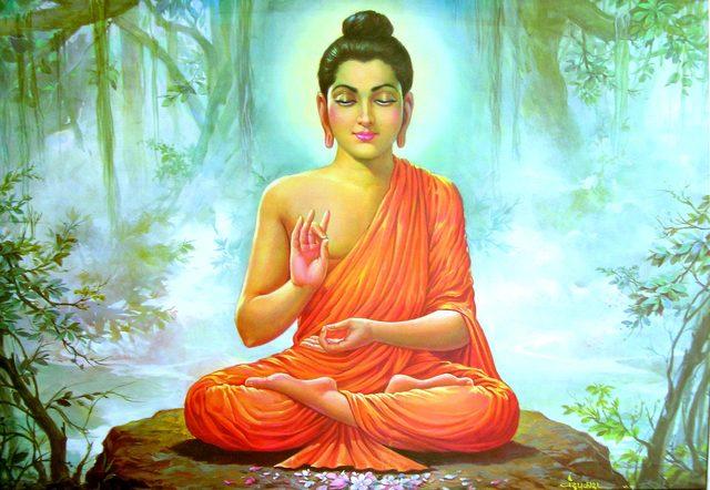Siddartha/Buddha dies