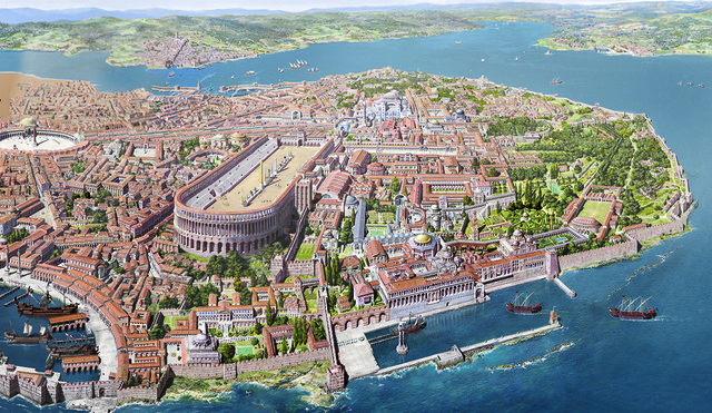 Constantinople made capital