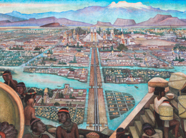 Tenochtitlan founded