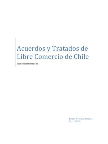 Trato de Libre Comercio.