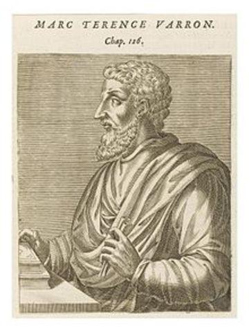 Marcus Terentius Varro (116 – 27 a. C.)