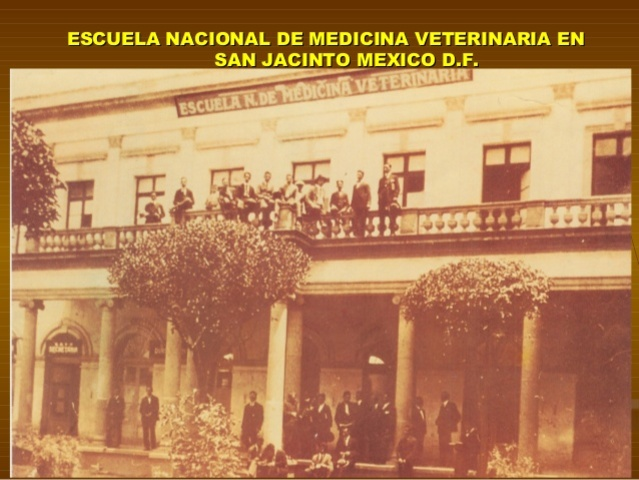 Primer escuela Veterinaria en México