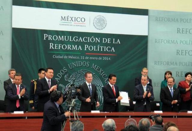 Reforma Constitucional en Materia Política-Electoral