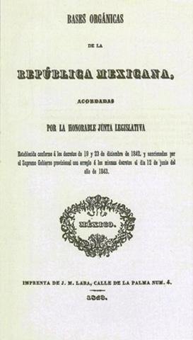 Las Bases Orgánicas de la República Mexicana