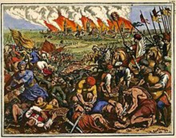 First Mongol invasion fails