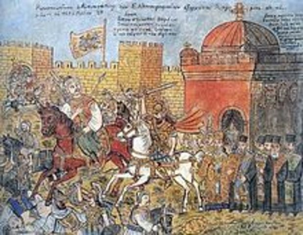 Fall of Constantinople takes place