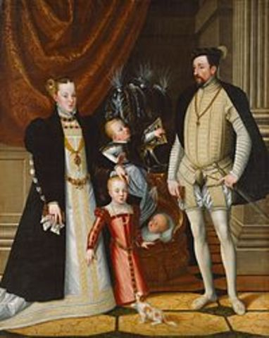 The Hapsburg rule of the Holy Roman Empire begins