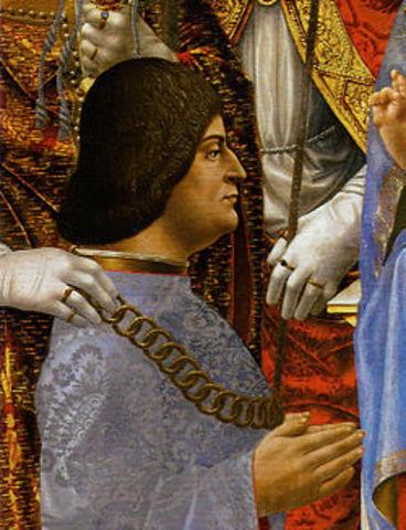 Lodovico Sforza seizes Milan