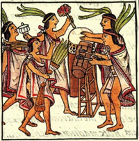 The Spanish conquer Inca and Aztec empires