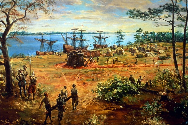 Jamestown is founded