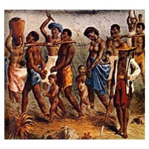 First African slaves arrive in Virginia