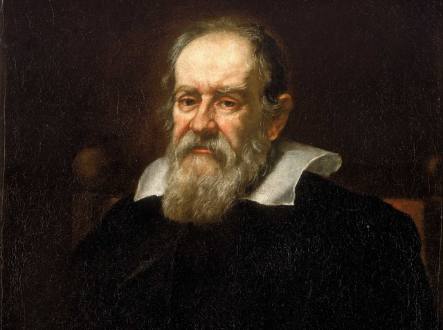 Galileo Galilei uses an early telescope to discover four moons revolving around Jupiter